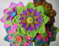 felt bouquet by sunweeds @ etsy.com  $45.00