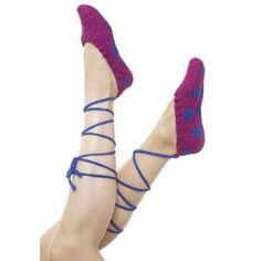 slippers, craft, knitting patterns, ballet slipper, crochet patterns, crochet ballet, yarn, crochet slipper, knit pattern
