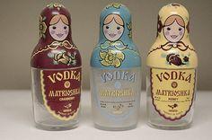 Matryoshka vodka bottles!