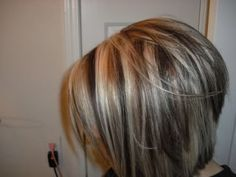 Ash+Brown+with+Blonde+Highlights | ... ash if it is yellow tone with a violet me with ash blonde auburn brown
