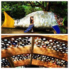 Rainbow Fish treehouse at Cheekwood