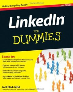 LinkedIn For Dummies
