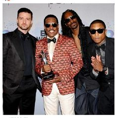 Justin Timberlake, Pharell, Snoop Dogg, Charlie Wilson