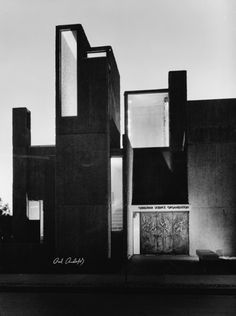 Christian Science Student Center, Urbana, Illinois, Paul Rudolph, 1966 — Bill Engdahl