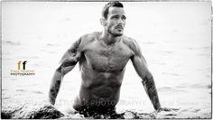 handsome Swedish men,  Sexy Men, Beautiful Tattoos, Guys with Tattoos, Swedish hunks shot by Franz Fleissner.
