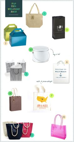 REVEL: Welcome Bags