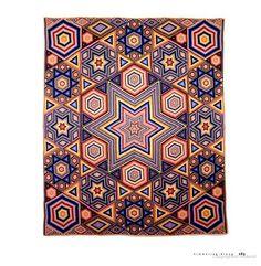 Albert Small's mosaic quilt