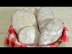 ▶ Somuni lepinje ćabate recept / Home made bread recipe - YouTube