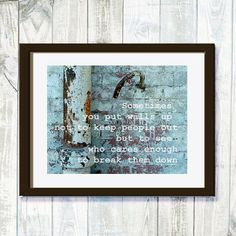 Inspirational Friends Quote Friendship grunge by ZenzPhotography,
