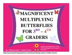 This is an excellent multiplication activity.  This 32 page hands on activity is sure to keep students engaged while mastering their facts.  I'm a firm believer in mastering multiplication facts are the building blocks for understanding higher order thinking math !!!  Click the link below to get this product and more....