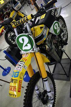 Bob Hannah Yamaha Factory Race Bike