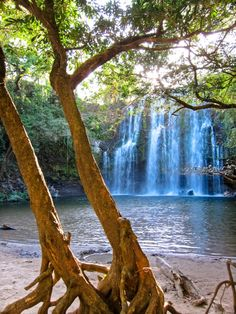 Waterfall outside Liberia, Costa Rica - Beautiful!!