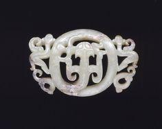 Jade buckle, Eastern Zhou Dynasty, 500-400 BC.