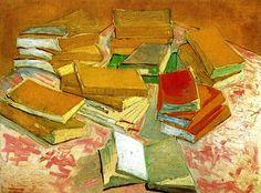 bofransson:  Still Life/ French Novels Vincent van Gogh - 1888