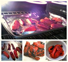 HOW TO ROAST RED PEPPERS:   So easy!