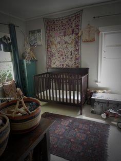Boho nursery #nurserydecor