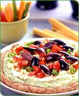 Weight Watchers Seven-Layer Mexican Dip