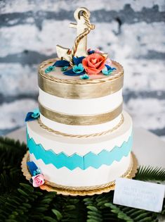 Mint + Turquoise Nautical Wedding Inspiration | Green Wedding Shoes Wedding Blog | Wedding Trends for Stylish + Creative Brides