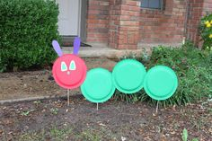 (3) DECOR The Very Hungry Caterpillar Outside Sign   #WorldEricCarle #HungryCaterpillar