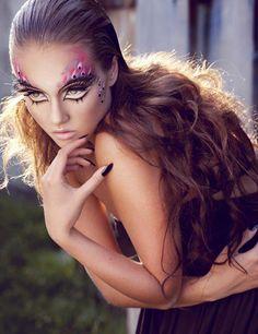 dramatic makeup 3