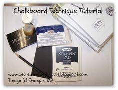 Chalkboard Technique Tutorial