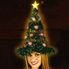 Christmas tree hat by fun world christmas novelty hats holiday costume