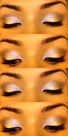 Prom makeup; i love the shape of her eyebrows