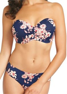 Fantasie Swim | Pollonia Blue Bandeau Bikini | FS5699 | Available from a D - G cup www.leialingerie.com