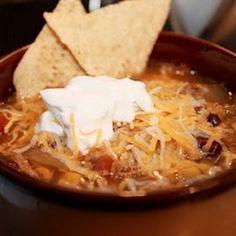 Chicken Tortilla Soup (Crock Pot) Recipe | Key Ingredient
