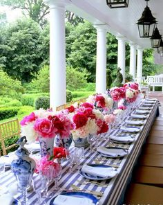 Perfect setting for a Mother's Day Brunch