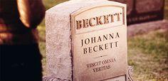 Johanna Beckett.  VINCIT OMNIA VERITAS