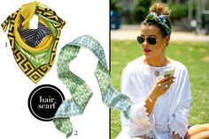 4 Ways To Wear Scarves This Summer | theglitterguide.com