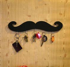 moustach, mustach, key holders