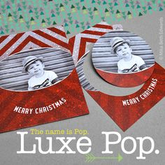 Introducing the Luxe Pop Card!
