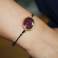Uno Ruby Bracelet