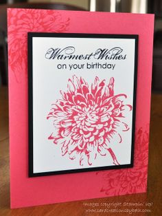 """Card Creations by Beth: Need a """"KISS"""" card?"""