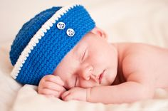 Free Crochet Pattern Baby Sailor Hat : Cute and Silly Hats to Crochet on Pinterest Hat Patterns ...