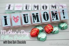 FREE Mother's Day printable via @Beckie 'beckerella' Munson Farrant {infarrantly creative} | DIY Mother's Day Gift Ideas