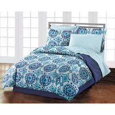 Istanbul 4-piece Comforter Set with Bedskirt
