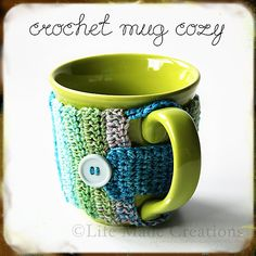 Ravelry: Crochet Mug Cozy pattern by Life Made Creations