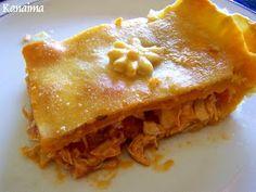 Pastel de pollo venezolano