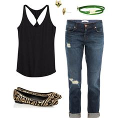 """just another bra-less Sunday"" by robinplemmons on Polyvore"