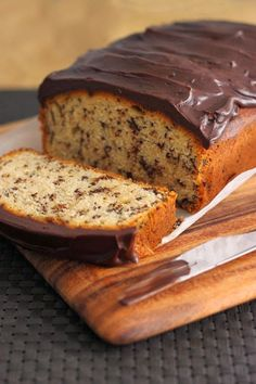 Scientifically Sweet: Chocolate Chip Pound Cake with Chocolate Ganache