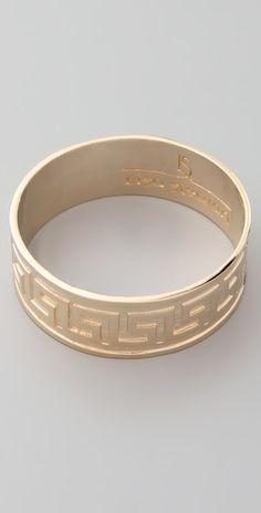 #Lisa_Stewart Modern Myth Gold Bangle $71  I want this so badly