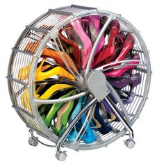 Shoe Wheel - can hold up to 30 pairs