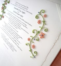 All Things Paper: Marriage Certificate - New Design