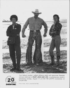 Ruby Jean & Joe - Rebekah Johnson & Tom Selleck...my favorite western