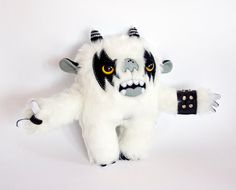 Metal Monster soft art toy by entala on Etsy, zł179.00