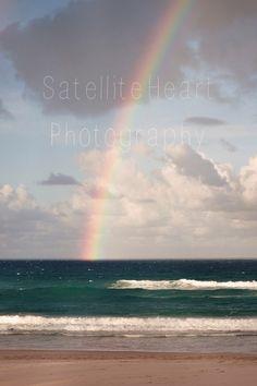 Available via Etsy or contact me on satelliteheartphotography@gmail.com! x #beach #miami #goldcoast #QLD #sea #ocean #bay #rainbows #etsy #australia #holidays #chrismas #gift idea #canon #eos