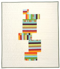 Contemporary Blocks baby quilt by bperrino on etsy